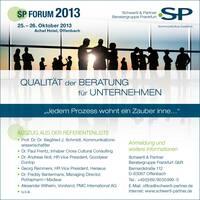 Forum 2013: Qualität von Beratung für Unternehmen