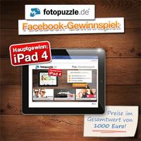 Beim fotopuzzle.de Facebook-Gewinnspiel tolle Preise gewinnen.