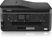 Multifunktioneller Tintenstrahldrucker mit großer Ausstattung, der Epson Stylus Office BX625FWD mit passenden Tintenpatronen