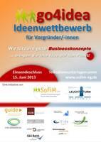 GO4IDEA - IDEENWETTBEWERB FÜR VORGRÜNDER/-INNEN