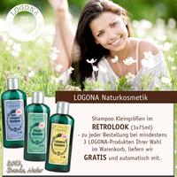 "LOGONA Naturkosmetik ""Retrolook"" Shampoo"