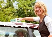 Waschtag fürs Cabrio