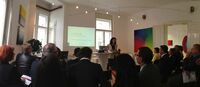 Vortragsveranstaltung zur Eröffnung des neuen Grazer Büros der Scheelen GmbH, Österreich