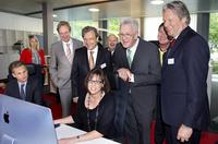 Ministerpräsident Kretschmann eröffnet Medienhaus