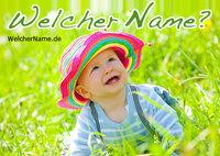 Vornamen wie Jasmin, Rose oder Anemone sind oft der Botanik entlehnt