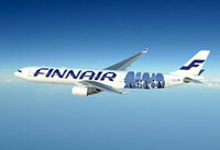 Weitere Finnair-Maschine hebt im Marimekko-Gewand ab