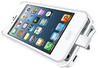 """Im Nu die Akkulaufzeit des iPhone 5 verdoppelt: """"iKit NuCharge"""" ist das weltweit erste Battery-Pack mit austauschbarem Akku, Kick-Stand, Schutzhülle und individuellem Cover in einem Produkt"""