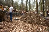 Die Natur- und Wildnisschule Teutoburger Wald startet am 11. April 2013 in Kooperation mit der NUA NRW die Fortbildung zum Wildnispädagogen.