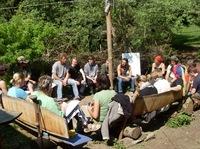 Start der zertifizierten Weiterbildung Natur- und Wildnispädagogik im Mai 2012 im Odenwald