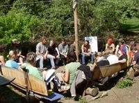 Start der zertifizierten Weiterbildung Natur- und Wildnispädagogik im März 2012 in Solingen durch die Natur- und Wildnisschule Teutoburger Wald in Kooperation mit der NUA NRW