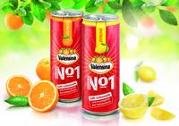 Erstmals in der Getränkedose: Premium-Limonade von Valensina