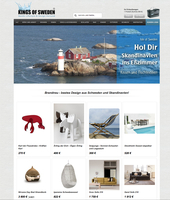 Nordic Lifestyle & Design Versandhaus - KINGS OF SWEDEN.de jetzt online.