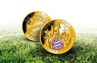Offizielle FCB-Medaille zum Champions League-Sieg
