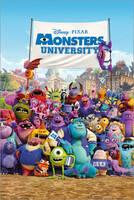 """""""Die Monster Uni"""" als Filmposter ab sofort bei Posterlounge erhältlich"""