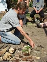 Im Juni startet im Odenwald die Fortbildung Natur- und Wildnispädagogik