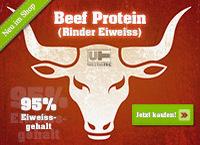 Beef Protein (Rinder Eiweiss) - Neu bei Ultra-Tec.de