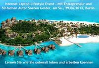Der Internet Laptop Lifestyle Event in der Naehe von Berlin