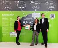 Deutschlandstand ist klimafreundlich, nachhaltig und ausgezeichnet