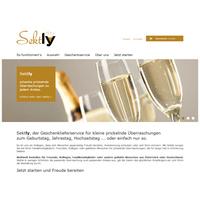 Sektly.com - die prickelnde Überraschung zum Vatertag.