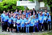 Busch-Jaeger mit 63 Startern beim 9. Wittgensteiner Firmenlauf in Bad Berleburg