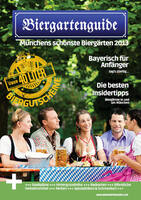 Die schönsten Biergärten Münchens: Biergartenguide mit über 40 Liter Bier-Gutscheinen