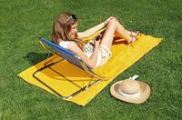 Mehr Sitzkomfort - ob im Bett oder am Strand