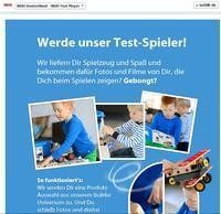 Begeisterte Test-Spieler gesucht: auf der BRIO Facebook-Seite können sich Familien um BRIO Builder-Produkte bewerben