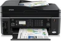 Leistungsstarker Businessdrucker mit passenden Tintenpatronen, der Epson Stylus Office BX610FW
