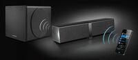 Creative präsentiert selbstkalibrierendes und modulares Lautsprechersystem