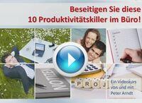 Neuer und kostenloser Videokurs vom Selbstorganisations-Profi Peter Arndt