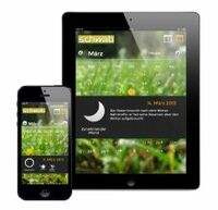 Kostenloser, mobiler Mondkalender