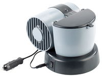 Leacars Mini-Klimaanlage 12V/230V, für Auto und Camping