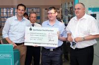 THW-Förderverein aus Weiden ist Sieger beim Spendenmarathon
