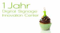 Einjährige Geburtstagsparty vom Digital Signage Innovation Center