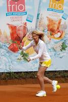 Stefanie Graf eröffnete die frio Teesaison