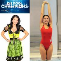 RTL Pool Champions-Auch Schlagerstar Antonia aus Tirol muss jetzt Turmspringen