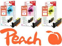 Kompatible CLi-551 Tintenpatronen von Peach verfügbar