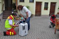 Erste Luftentfeuchter an Flutopfer in Riesa übergeben