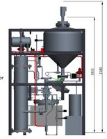 agnion vertreibt Laborvergaser für Pellets aus Biomasse und organischen Abfällen