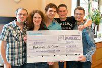 Praxis für Talente: Das Siegerteam des Fallstudienwettbewerbs 2013 steht fest!