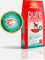 Die Meradog Pure Hundefutter-Linie wird um die Sorte Pure Hering, Krill und Kartoffel erweitert