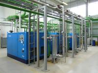 Kolbenkompressoren - 12 bar für die Karosserieproduktion bei BMW