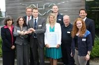 Ausgezeichnet: Übergabe des Ausbildungs-Awards der IHK Lübeck an Alfa Laval Mid Europe