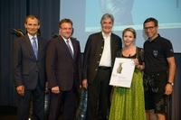 """""""Tirol Touristica 2013"""" - Anerkennungspreis für das Naturhotel Waldklause"""