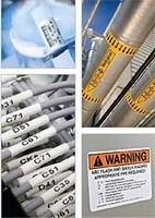 Etiketten mit hohen Qualitätsstandards und Farbbänder nach Maß