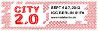 """TEDxBerlin """"City 2.0"""": Tickets ab sofort erhältlich"""