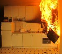 Brandgefahr: Küche ist Brandentstehungsort Nummer Eins