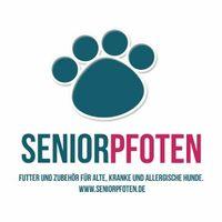 Start für seniorpfoten.de - Online Shop mit Futter und Zubehör für alte, kranke und allergische Hunde