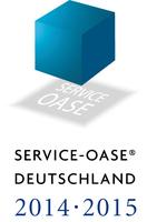 """Restaurants mit bestem Service gesucht - Gäste wählen ihre """"Service-Oasen 2014/2015"""""""