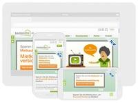 kautionsfrei.de bietet als erster Anbieter von Mietkautionsbürgschaften optimiertes Design für mobile Kunden